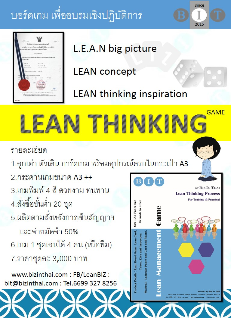 Lean thinking game
