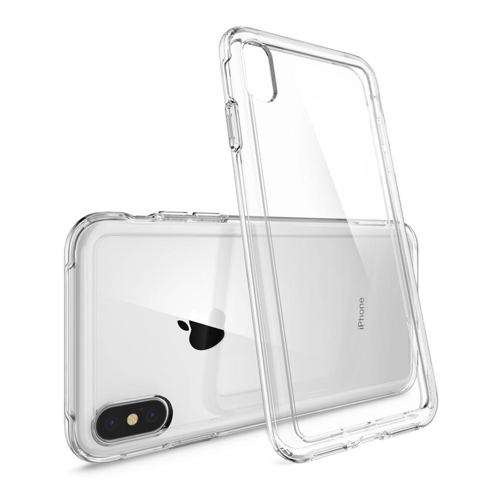 Iphone Xs Max Spigen Crystal Hybrid Case Apple Watch Rugged Armor 38mm Tpu Softcase Original