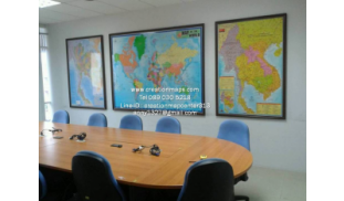Thailand-World and Indo China Map Resin Board_01.jpg