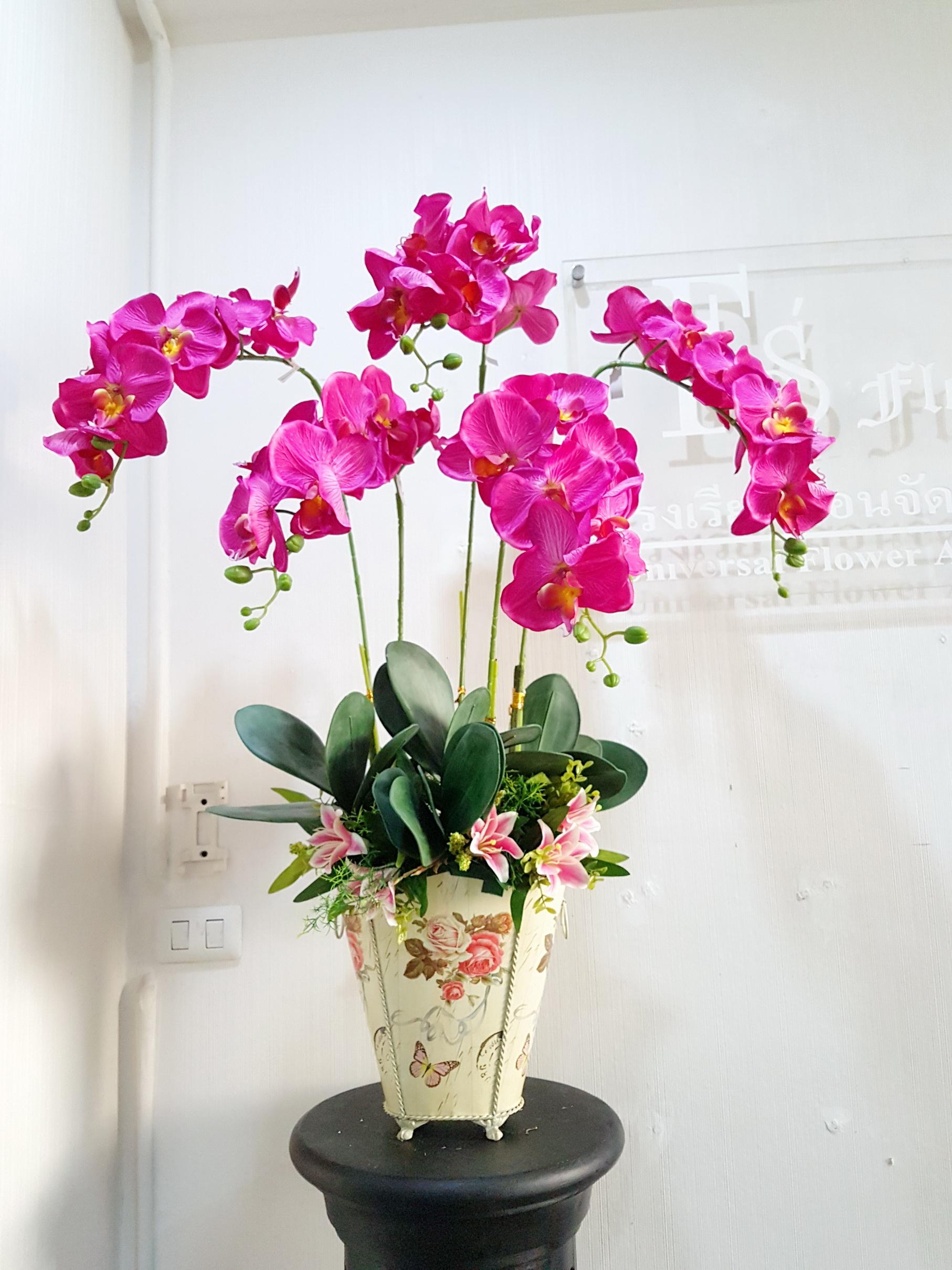 หลักสูตรการจัดดอกไม้ประดิษฐ์