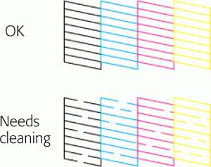 วิธีทดสอบหัวพิมพ์Printer Epson เมื่อสีเพี้ยน หมึกออกไม่ครบ