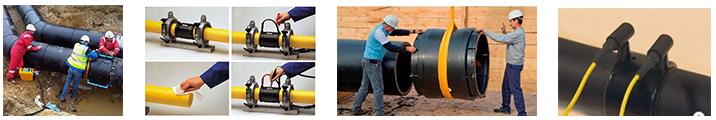 งานเชื่อมท่อ HDPE