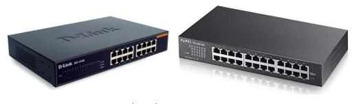 อุปกรณ์ Switch กับ Hub