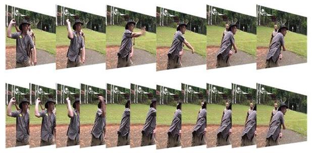 ภาพเปรียบเทียบยิ่ง Frame Rate ต่ำ ความต่อเนื่องก็ยิ่งต่ำ