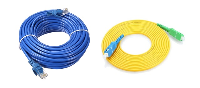 สายสัญญาณที่ใช้ในงานติดตั้งระบบเครือข่าย