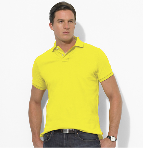 POLO TK premium Yellow