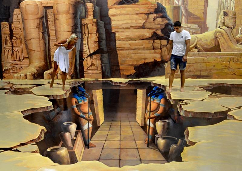 Art in Paradise Pattaya ECOCAR Car Rental Thailand